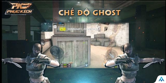 Quá nhanh quá nguy hiểm, Phục Kích bất ngờ cập nhật phiên bản mới, mang chế độ Ghost huyền thoại lên mobile