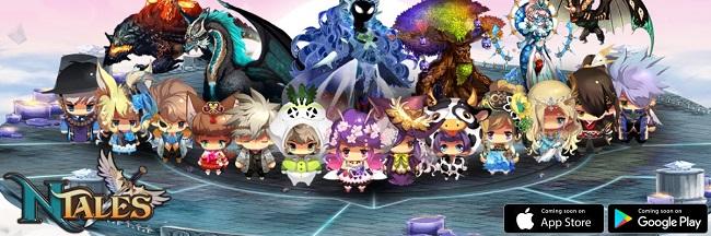 NTales: Child of Destiny - GMO RPG Hàn Quốc với đồ họa anime siêu dễ thương