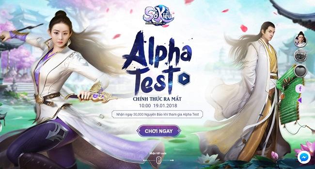 Webgame kiếm hiệp ngôn tình Sở Kiều thử nghiệm vào 10h00 ngày 17/01