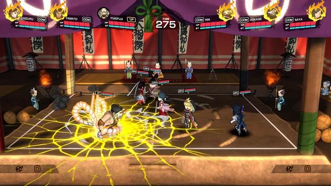 Dodgeball Rising - tựa game thể thao 'bóng né' cực mới lạ chuẩn bị đổ bộ Steam