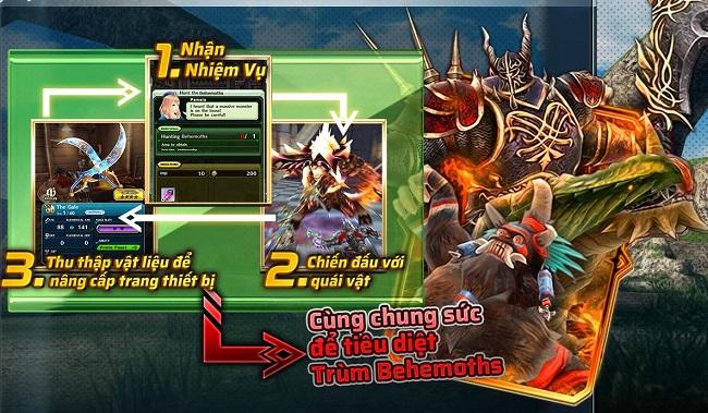 Dragon Project: Săn Rồng mobile - Game Nhật cực chất có hỗ trợ game thủ Việt