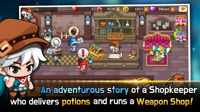 Dungeon Delivery – tựa game giải trí phong cách chibi cực dễ nghiện