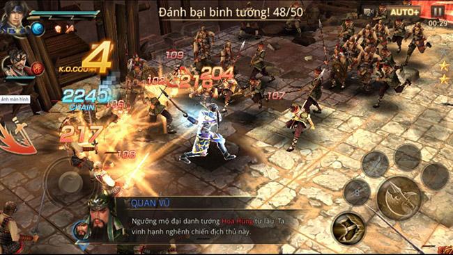 Trải nghiệm siêu phẩm Dynasty Warriors: Unleashed bản Việt Hóa