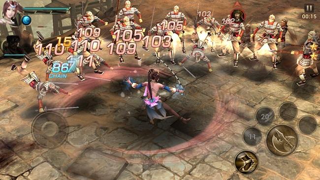 Dynasty Warriors: Unleashed – Xứng danh siêu phẩm chặt chém trên mobile