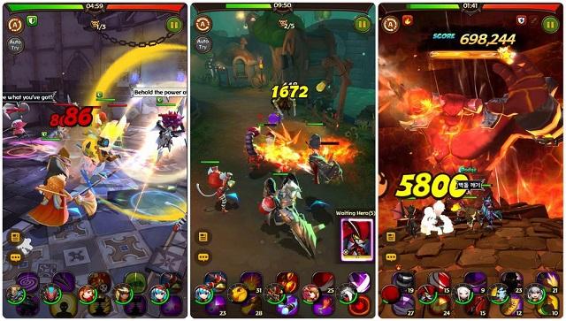 Hello Hero: Epic Battle – bom tấn RPG cực chất đã cập bến mobile