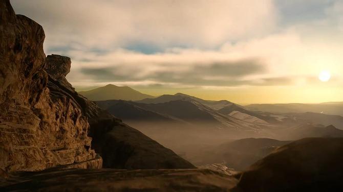 Quang cảnh thế giới tuyệt đẹp trong FINAL FANTASY XV