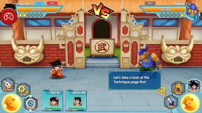Trải nghiệm sớm thế giới 7 viên ngọc rồng cùng Fusion Fighter