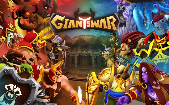Giants War - siêu phẩm game chiến thuật thẻ bài đã chính thức đổ bộ mobile