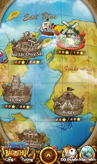 Hải Tặc Báo Thù - game mobile mới chuẩn bị ra mắt tại Việt Nam