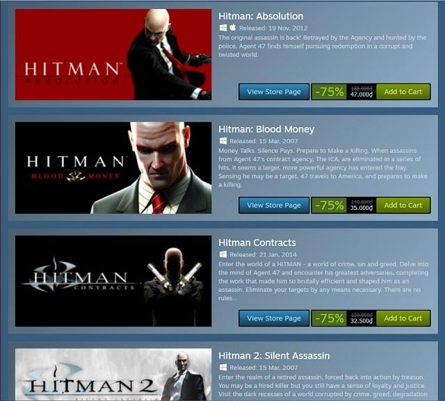 Bom tấn Hitman giảm giá khủng và cho chơi hoàn toàn miễn phí nhân dịp Halloween