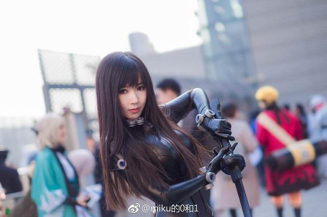 Mê mẩn cosplay nữ chiến binh Reika cực ngầu trong Gantz