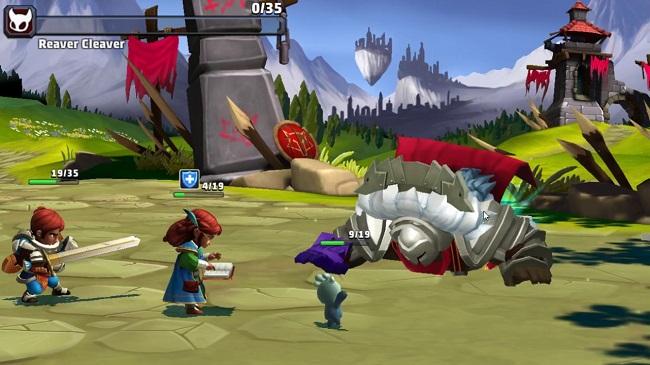 Lionheart: Dark Moon - GMO RPG cùng lối đánh turn-base vừa ra mắt