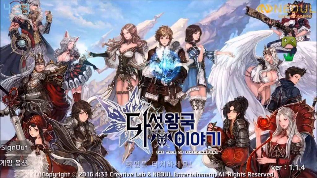 Bom tấn RPG đồ hoạ khủng The Tale of Five Kingdoms vừa cập bến mobile