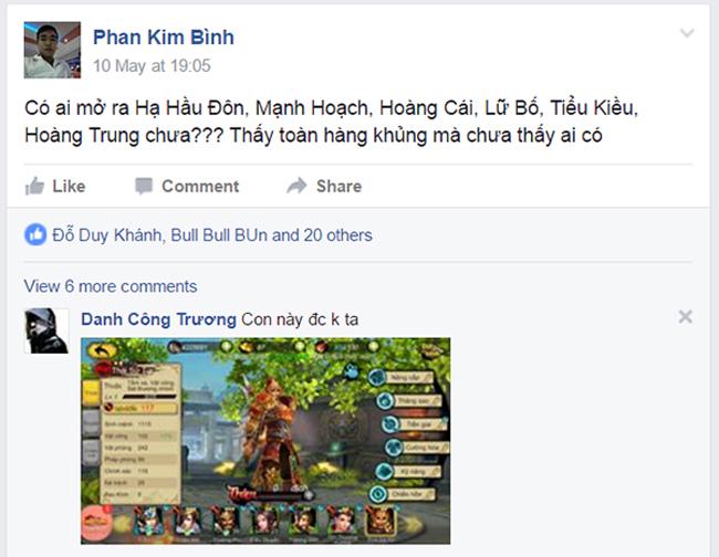 Game thủ Việt phản đối vì không đăng nhập được Long Tướng 3D