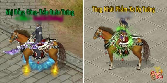 """Hai """"bé ngựa thần thánh"""" trong Chinh Đồ 1 Mobile"""