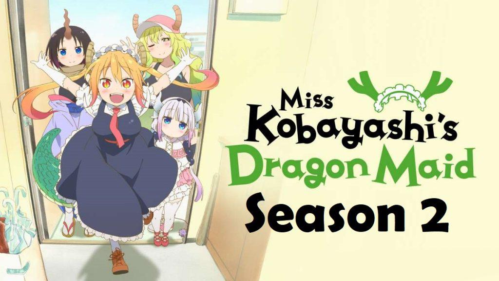Hot! Anime bom tấn Hầu gái của tôi là rồng sẽ đổ bộ season 2