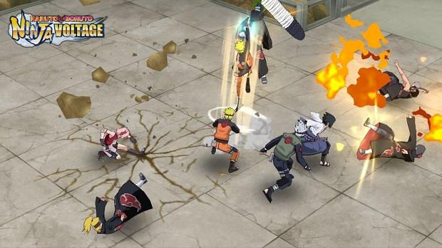 Naruto X Boruto Ninja Voltage - tựa game mobile RPG chính chủ từ Bandai Namco