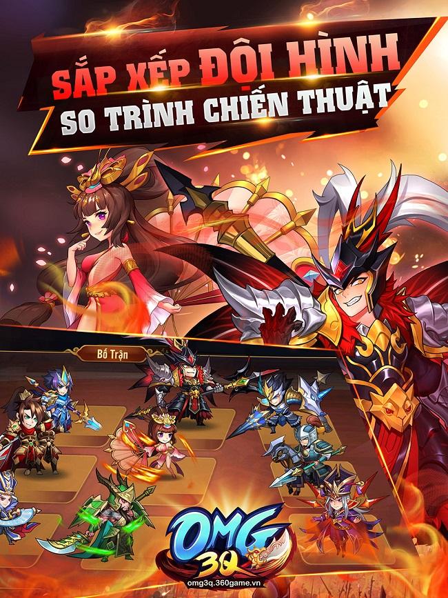 OMG 3Q – game mobile thẻ bài chiến thuật công bố ngày Alpha Test