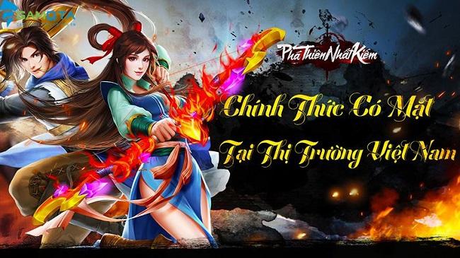 Game mobile Phá Thiên Nhất Kiếm chuẩn bị đổ bộ Việt Nam