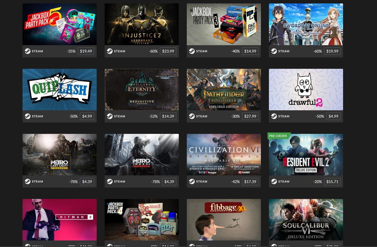 [Winter Sale] Rất nhiều tựa game bom tấn đang được giảm giá lên đến 80% trên trang Fanatical