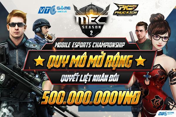 """Công bố thể lệ và cơ chế thăng hạng, MEC mùa 2 đang """"chuẩn eSports"""""""
