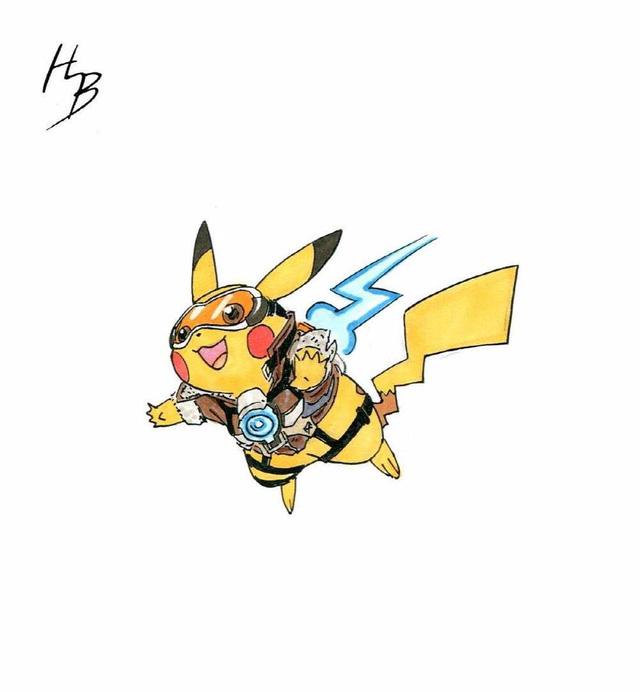 Dung hợp Pokemon và Heroes Overwatch ta được gì?