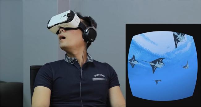 Lần đầu trải nghiệm thực tế ảo Gear VR