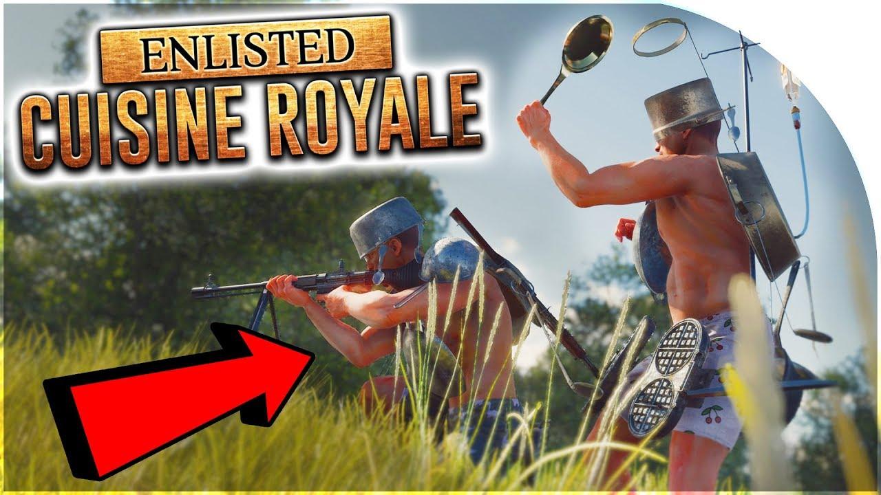 """Cuisine Royale: tải ngay """"PUBG phiên bản siêu lầy"""" đang miễn phí trên Steam"""