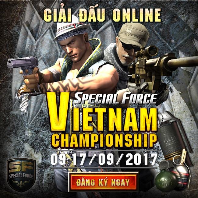 Special Force Vietnam Championship 2017 – Cơ hội thi đấu quốc tế cho xạ thủ SF Việt nam