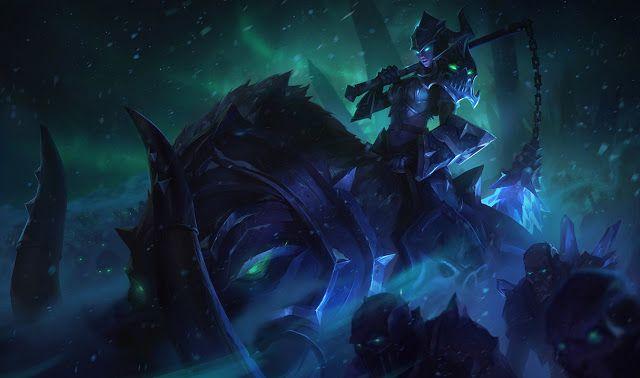 Lô diện hình hiển thị trong game mới của Sejuani và Maokai sau khi sửa đổi