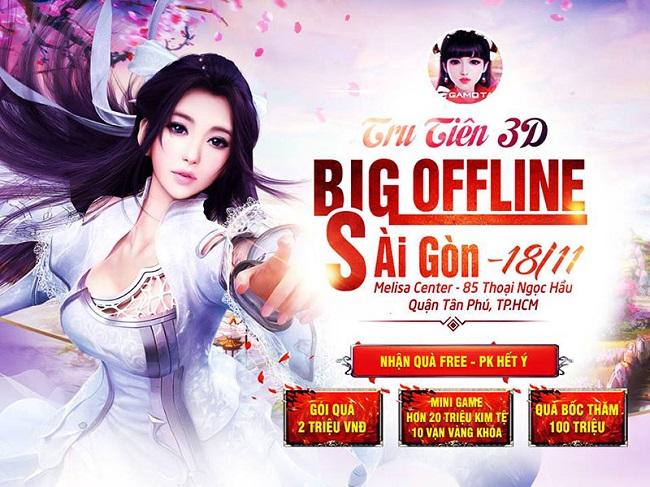 Tru Tiên 3D – Big Offline Huyết Chiến Vương Giả tiếp tục đổ bộ miền Nam