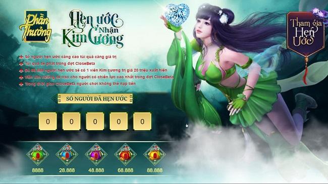 Tru Tiên 3D ra mắt trang chủ - Công bố lịch trình ra mắt game