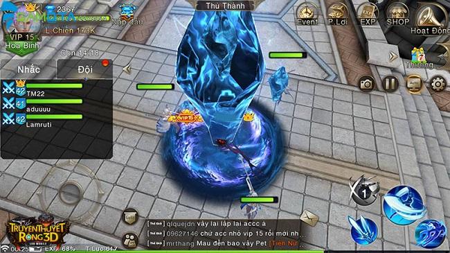 Những tính năng bạn chẳng thể gặp ở đâu ngoài tại Truyền Thuyết Rồng 3D