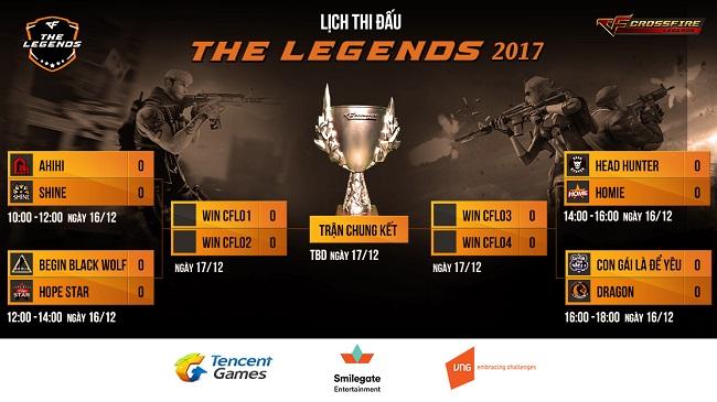 THE LEGENDS 2017 – Chung kết giải đấu CFL 1 tỷ đã sẵn sàng