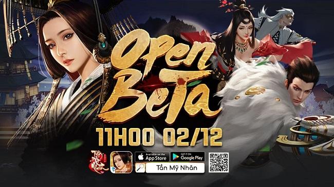 Dzogame tặng 500 Giftcode game Tần Mỹ Nhân Gamota