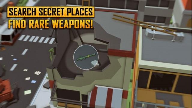Unknown Royal Battle - game bắn súng phong cách PUBG với đồ họa Minecraft độc đáo