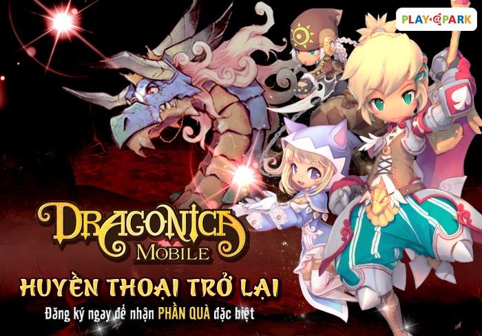 Đăng ký ngay để cùng Dragonica Mobile bước vào hành trình mới