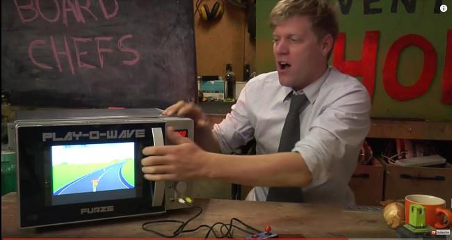 Nâng cấp lò vi sóng để chơi được cả game 4 nút