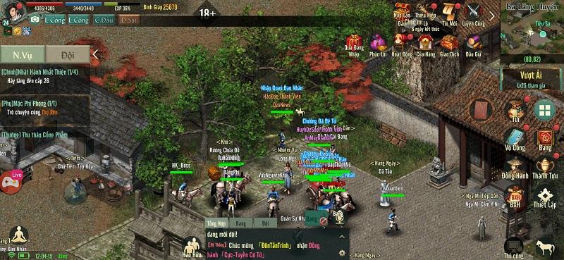 Võ Lâm Truyền Kỳ 1 Mobile phiên bản game di động được phát triển dựa trên bản gốc VLTK VLTK1Mobile-3_pp_330
