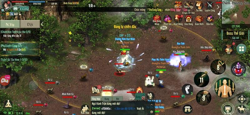 Võ Lâm Truyền Kỳ 1 Mobile phiên bản game di động được phát triển dựa trên bản gốc VLTK VLTK1Mobile-4_pp_911