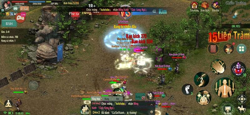 Võ Lâm Truyền Kỳ 1 Mobile phiên bản game di động được phát triển dựa trên bản gốc VLTK VLTK1Mobile-5_pp_647