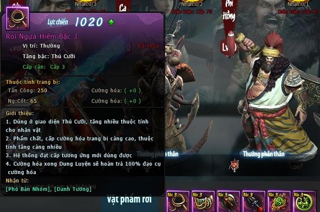Danh Tướng trở lại và lợi hại hơn xưa trong webgame Võ Lâm Truyền Kỳ VNG