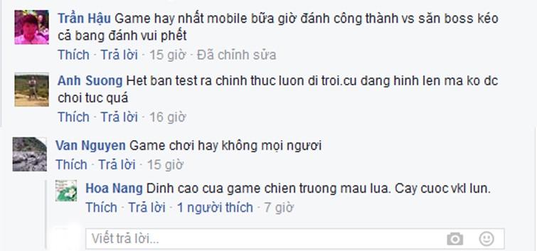 Game thủ Võ Lâm Truyền Kỳ Mobile nói gì về Công Thành Chiến?