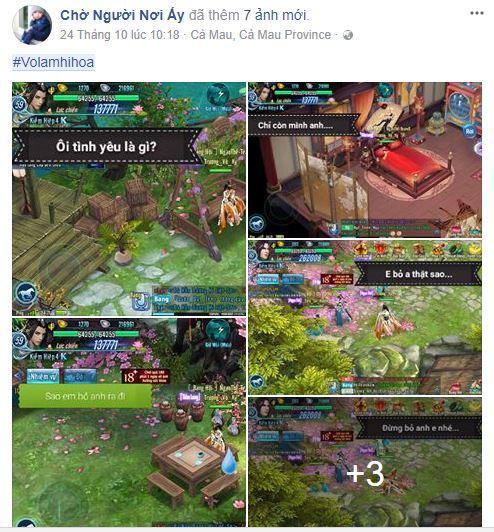 Thì ra các game thủ VLTK Mobile lại đa tài như thế này