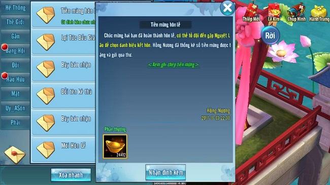 Tổ chức đám cưới, game thủ VLTK Mobile tính toán y như thật