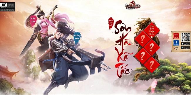Võ Lâm Truyền Kỳ Mobile công bố tên phiên bản mới, mở giải đấu Hoa Sơn Luận Kiếm