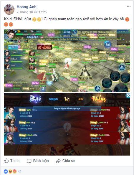 VLTK Mobile: Hơn 300 server kịch chiến vì 1 ngôi vị Võ Lâm Chí Tôn