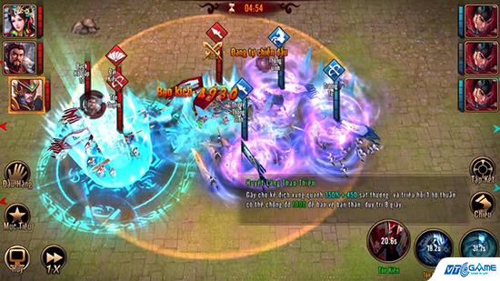 Tam Quốc Moba - Game the tướng chiến thuật cập bến Việt Nam