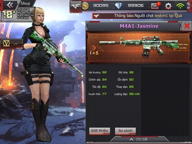 Crossfire Legends update phiên bản mới nhân dịp 30/4