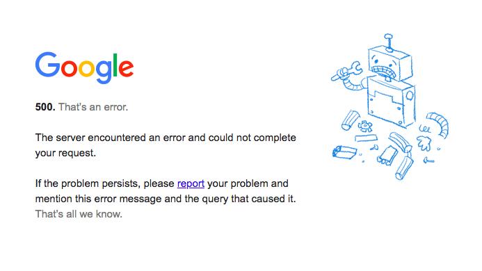 Gmail, Drive, Youtube và nhiều dịch vụ khác của Google gặp sự cố